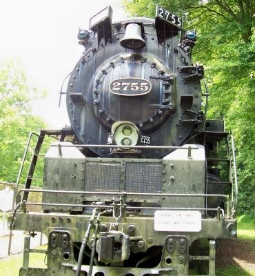 Chesapeake & Ohio - 2755 Steam Locomotive image. Click for full size.