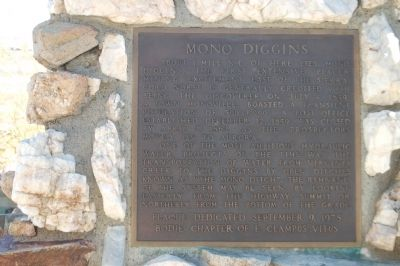 Mono Diggins Marker image. Click for full size.