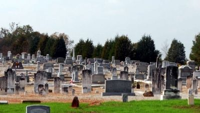 Little River Baptist Church Cemetery image. Click for full size.