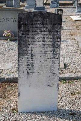 Richard Alexander Branyon Tombstone image. Click for full size.