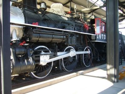 Locomotive 1673 image. Click for full size.