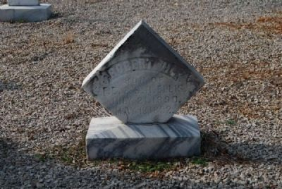 Robert H. Clinkscales Tombstone image. Click for full size.