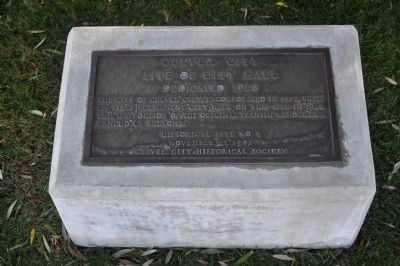 Culver City Marker image. Click for full size.