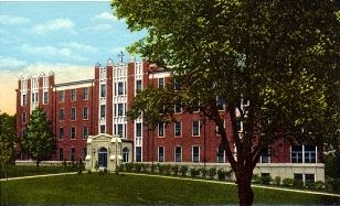 St. Mary's Hospital of Emporia Post Card image. Click for full size.