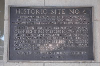 The Citizen Building Marker image. Click for full size.