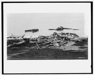 Ruins of life saving station image. Click for full size.