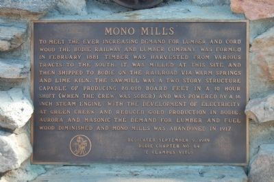 Mono Mills Marker image. Click for full size.