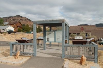 The Comstock Trail and History Kiosk Marker image. Click for full size.