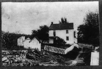 Birthplace of Daniel Drawbaugh image. Click for full size.