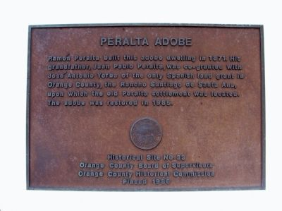 Peralta Adobe Marker image. Click for full size.