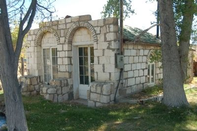 Old Bank Building at Benton Hot Springs image. Click for full size.