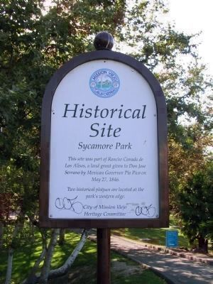 Historical Site = Sycamore Park image. Click for full size.