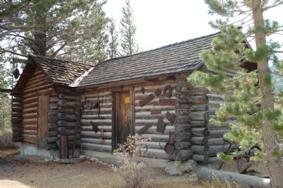 The Hayden Cabin - out-building image. Click for full size.