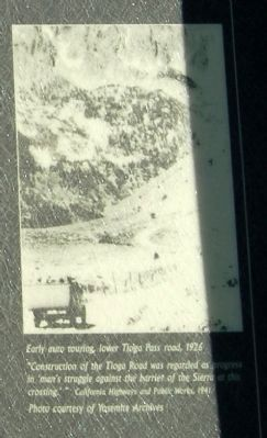 Close-Up of Photo Displayed on Marker image. Click for full size.