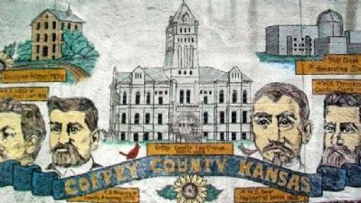 Coffey County, Kansas, Courthouse image. Click for full size.