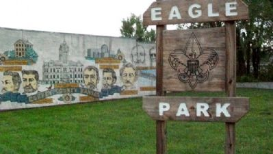 Coffey County, Kansas Mural at Eagle Park image. Click for full size.