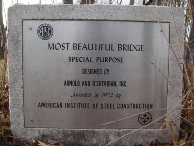 Steel Bridge Marker image. Click for full size.