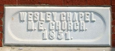 Groveport United Methodist Church Cornerstone image. Click for full size.
