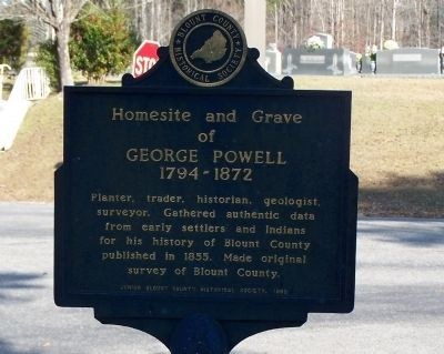 George Powell Marker image. Click for full size.