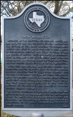 New Washington Marker image. Click for full size.