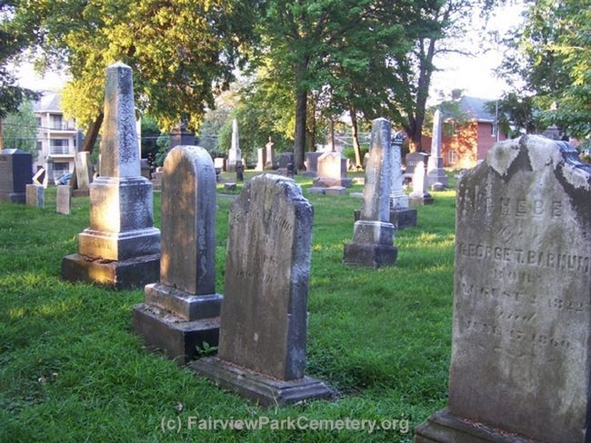 FairviewParkCemetery.org image. Click for full size.
