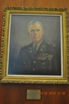 Picture of George C. Marshall at Space Flight Center image. Click for full size.