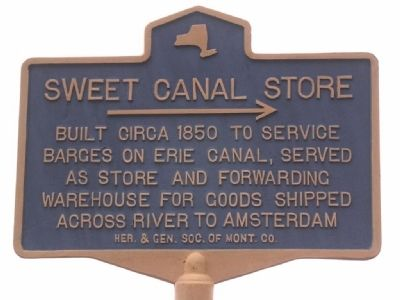 Sweet Canal Store Marker image. Click for full size.