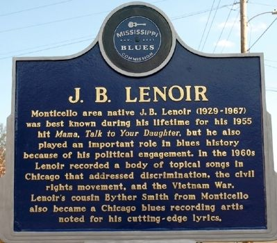 J B Lenior Marker image. Click for full size.