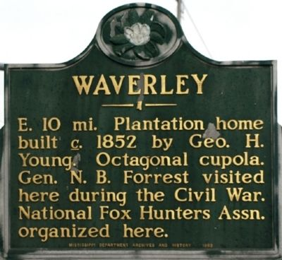 Waverley Marker image. Click for full size.