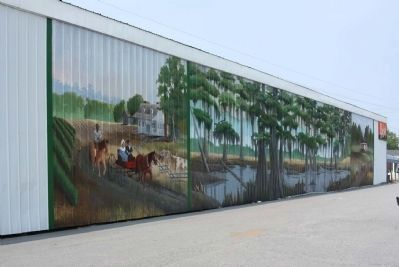 Pond Bluff to St Stephen's Church Mural image. Click for full size.