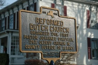 Reformed Dutch Church Marker image. Click for full size.