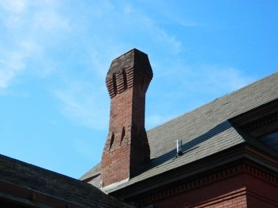 Baltimore & Ohio Railroad Station Chimney image. Click for full size.