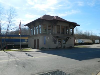 Sykesville Post Office and Visitor's Center image. Click for full size.