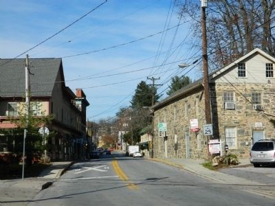 Main Street of Historic Sykesville image. Click for full size.