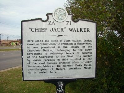"""Chief Jack"" Walker Marker image. Click for full size."