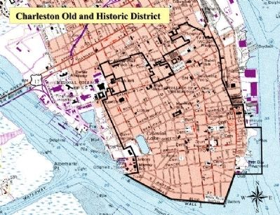 Charleston Historic District, today image. Click for full size.
