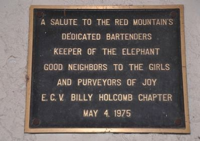 Silver Dollar Saloon Marker image. Click for full size.