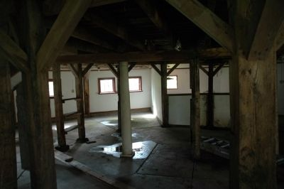Parker 13-Sided Barn Ground Floor Interior image. Click for full size.