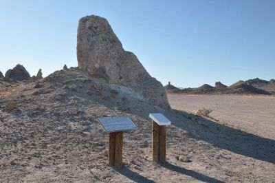 Welcome to the Trona Pinnacles Marker image. Click for full size.
