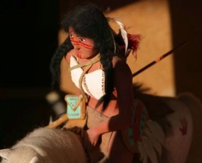 Navaho Doll, Window Display - Downtown image. Click for full size.