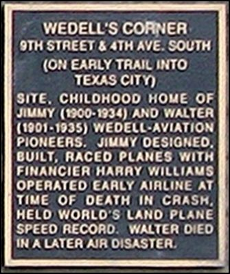 Wedell's Corner Marker image. Click for full size.