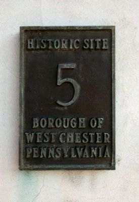 West Chester Historic Site - # 5 image. Click for full size.