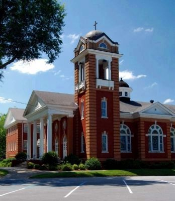 First Baptist Church of Belton<br>Location 1911-Present image. Click for full size.
