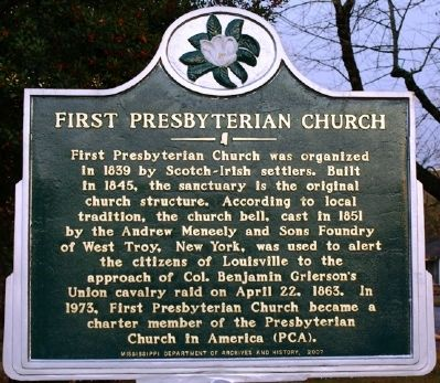 First Presbyterian Church Marker image, Touch for more information
