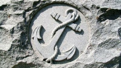 Anchor on Civil War Memorial image. Click for full size.