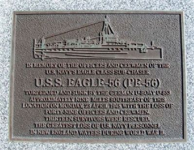 U.S.S. Eagle-56 (PE-56) Memorial image. Click for full size.