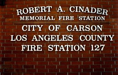 Robert A. Cinader Memorial Fire Station image. Click for full size.