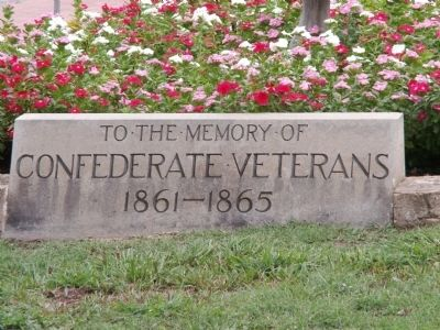 Confederate Veterans Marker image. Click for full size.