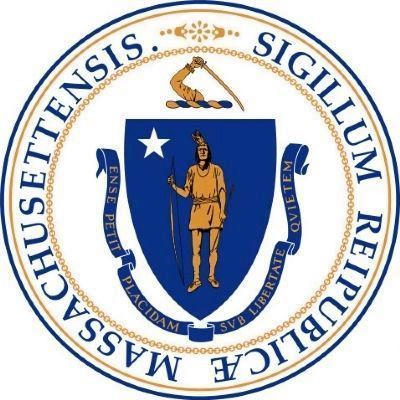Massachusetts State Seal image. Click for full size.