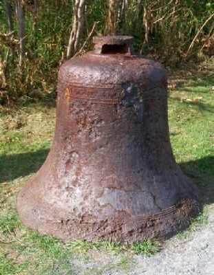 Bell at Fort Williams Marker image. Click for full size.